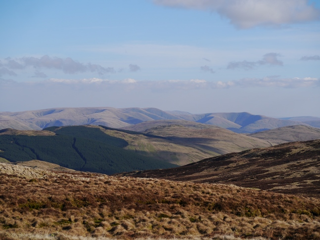 The Howgill Fells from White Howe