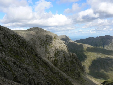 Ill Crag from the Broad Crag col
