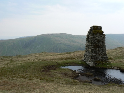 Kentmere Pike from the stone tower on Tarn Crag