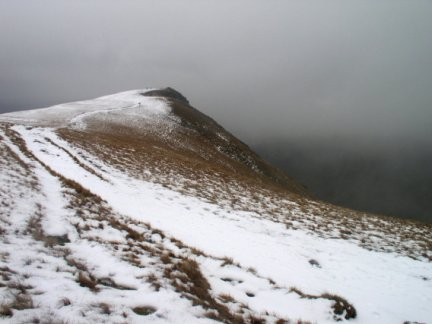 Approaching Kidsty Pike from Rampsgill Head