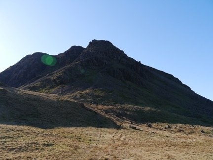 The next stage of the walk was a scramble up Kirkfell Crags