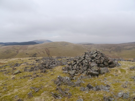 One of a number of cairns on Latter BarrowOne of a number of cairns on Latter Barrow