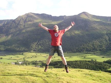 Happiness is an evening on Rannerdale Knotts