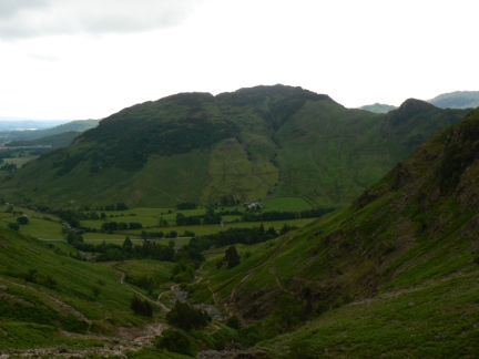Lingmoor Fell from Stickle Ghyll
