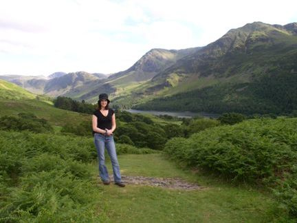 Lisa and the Buttermere valley
