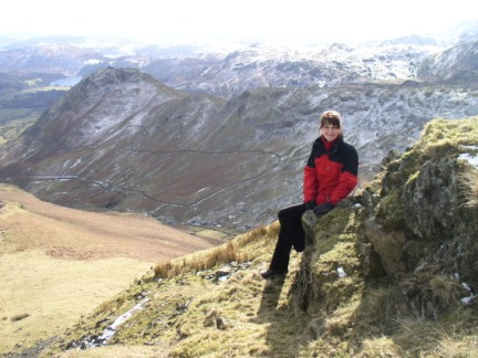 Lisa and Helm Crag