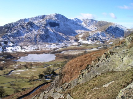 Little Langdale and Wetherlam