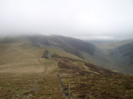 Littledale Edge and the Honister Pass