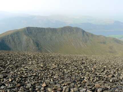 Long Side and Ullock Pike from Skiddaw