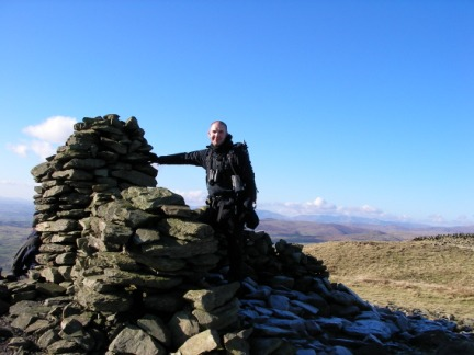 Matt on Whinfell Beacon