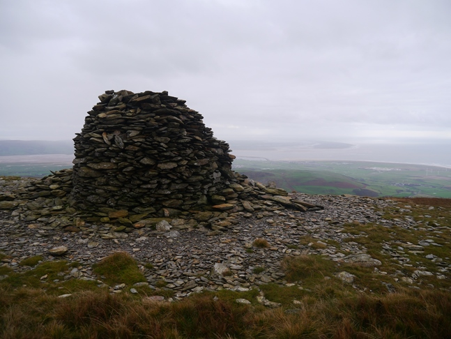 The large cairn overlooking Millom