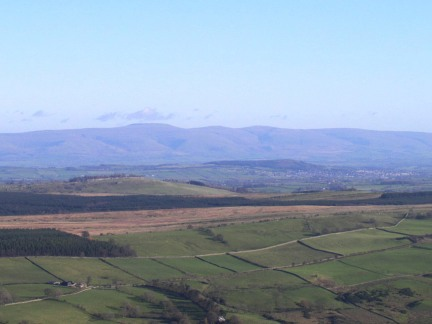 Cross Fell and the North Pennines
