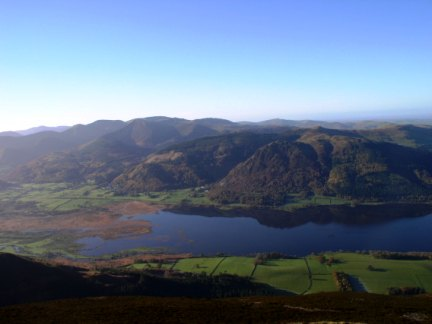 Bassenthwaite Lake and the North Western Fells from Ullock Pike