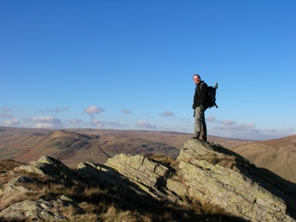 On Ashstead Fell with the Shap Fells behind me