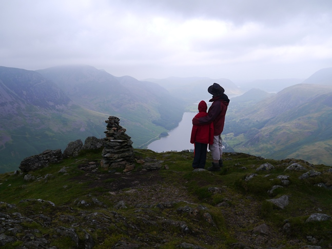 On Fleetwith Pike with Liam
