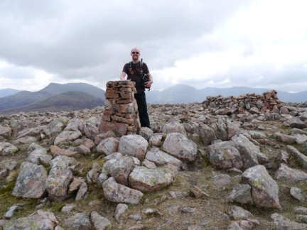 On the summit of Great Borne