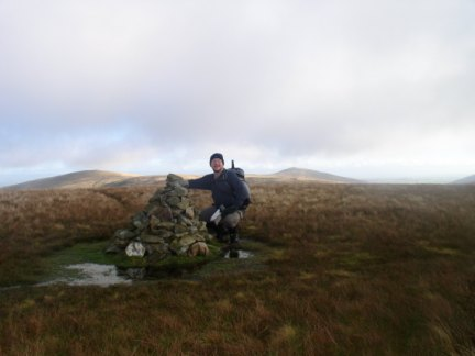 On the top of Great Sca Fell