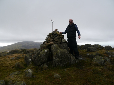 On the top of Hard Knott