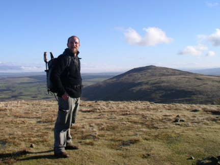 On High Pike with Carrock Fell behind me