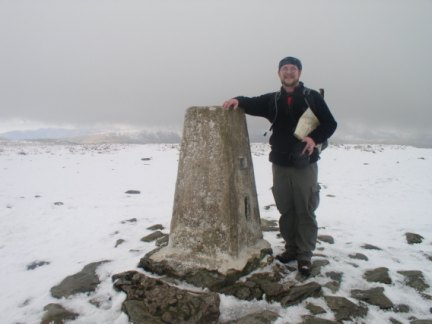 By the trig point on High Street