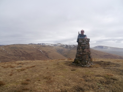 On the top of Lank Rigg