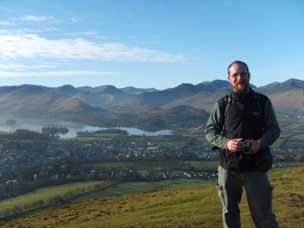 On the top of Latrigg