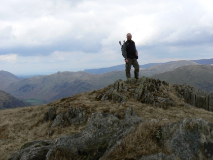 On the top of Little Hart Crag