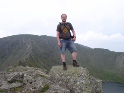 On the highest point of Striding Edge