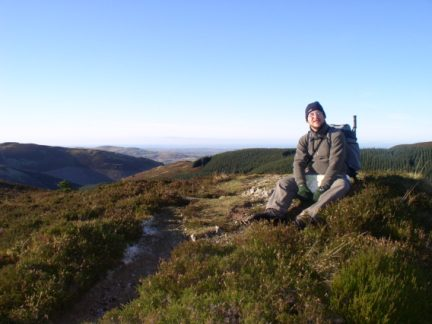 On the heathery top of Ullister Hill