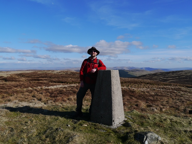 By the trig point on White Howe