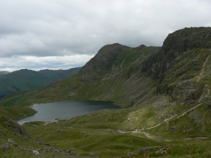 Pavey Ark, Harrison Stickle and Stickle Tarn