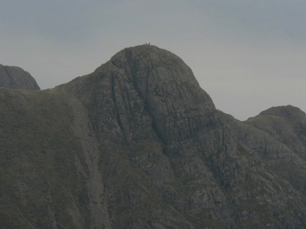 Zooming in on the top of Pike O'Stickle