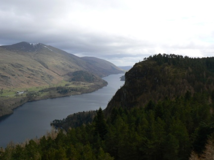 Raven Crag and Thirlmere from The Benn
