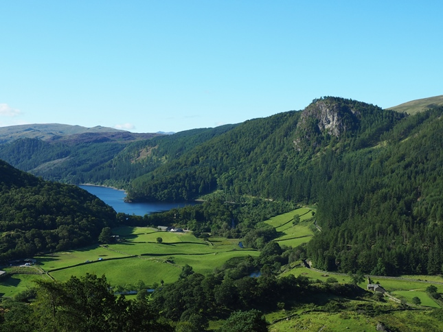 Raven Crag and Thirlmere from Wren Crag