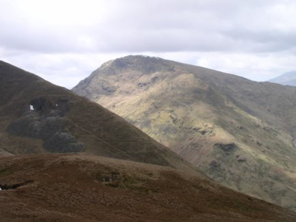 Red Screes from Hartsop Dodd