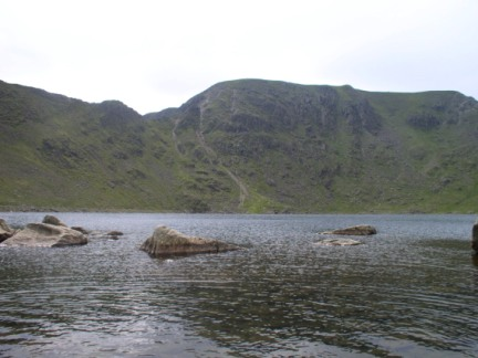 Red Tarn and Helvellyn