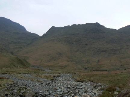 Looking back at Rossett Pike