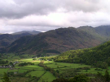Rosthwaite Fell from Castle Crag