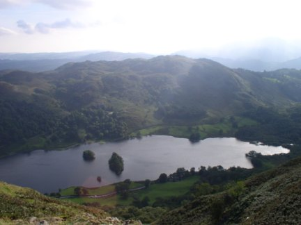 Rydal Water from Nab Scar