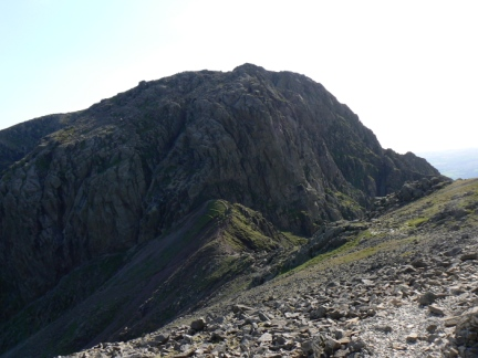 Mickledore and Scafell