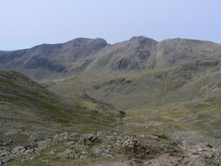 The Scafells from Crinkle Crags