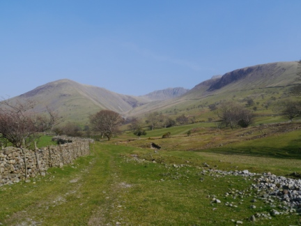 Lingmell and the Scafells