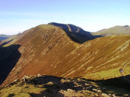 The ridge to Scar Crags
