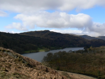 Silver How and Grasmere from Loughrigg Terrace