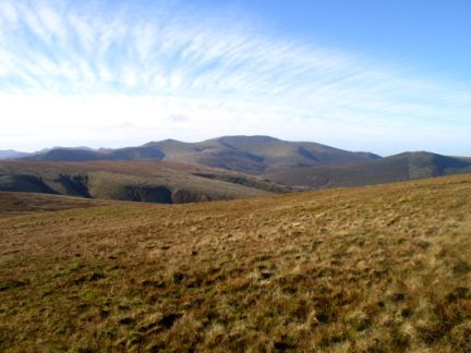 Skiddaw from Bowscale Fell