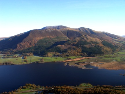 Bassenthwaite Lake and Skiddaw from Barf