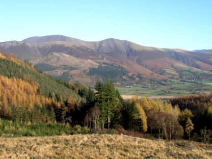 Skiddaw from Seat How