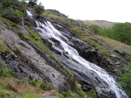The lower falls on Sour Milk Gill
