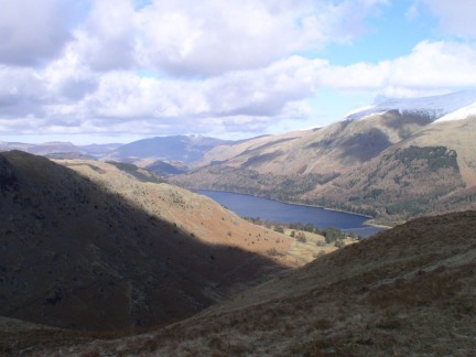 A glimpse of Thirlmere