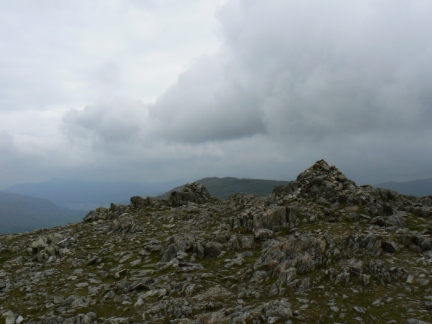 The summit of Allen Crags was quickly reached